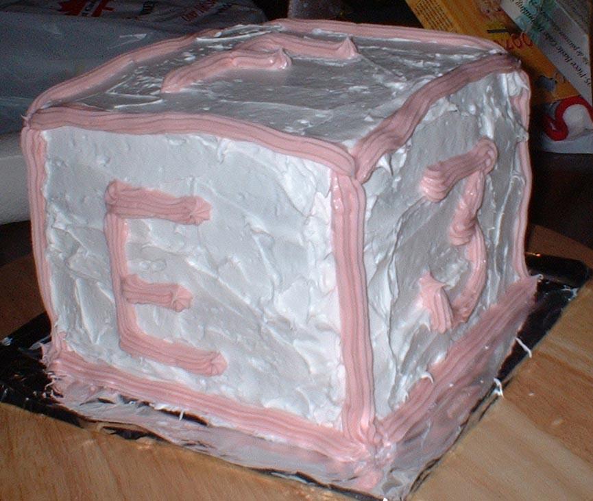 Ro's 1st birthday cake
