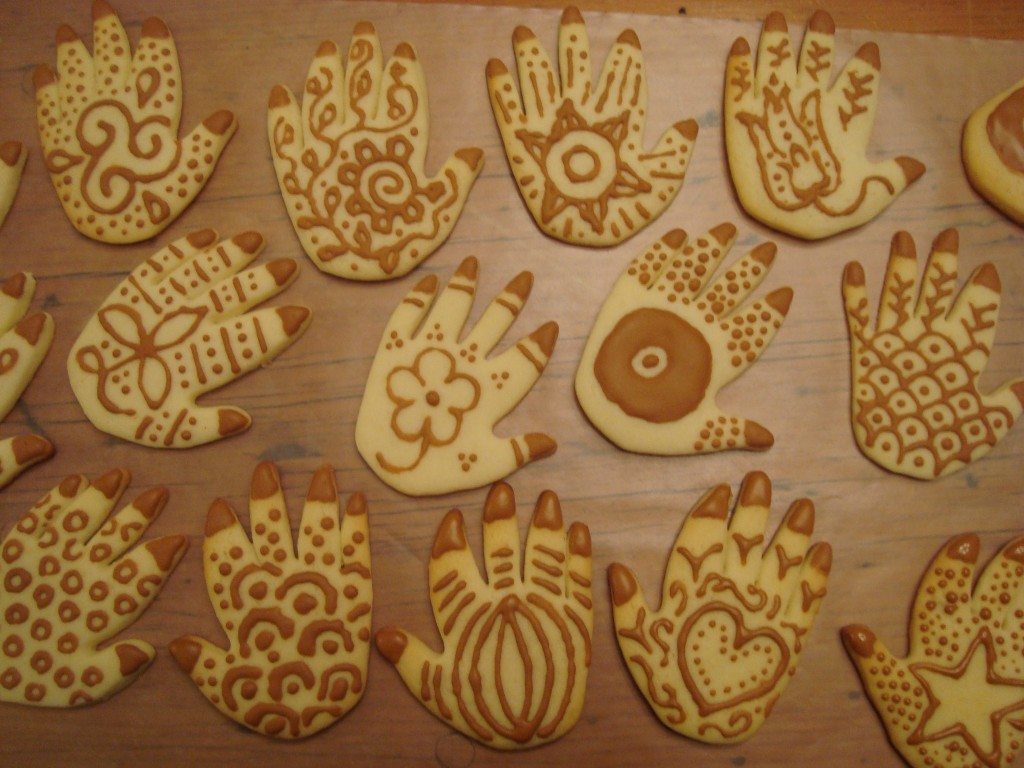 Henna cookies!