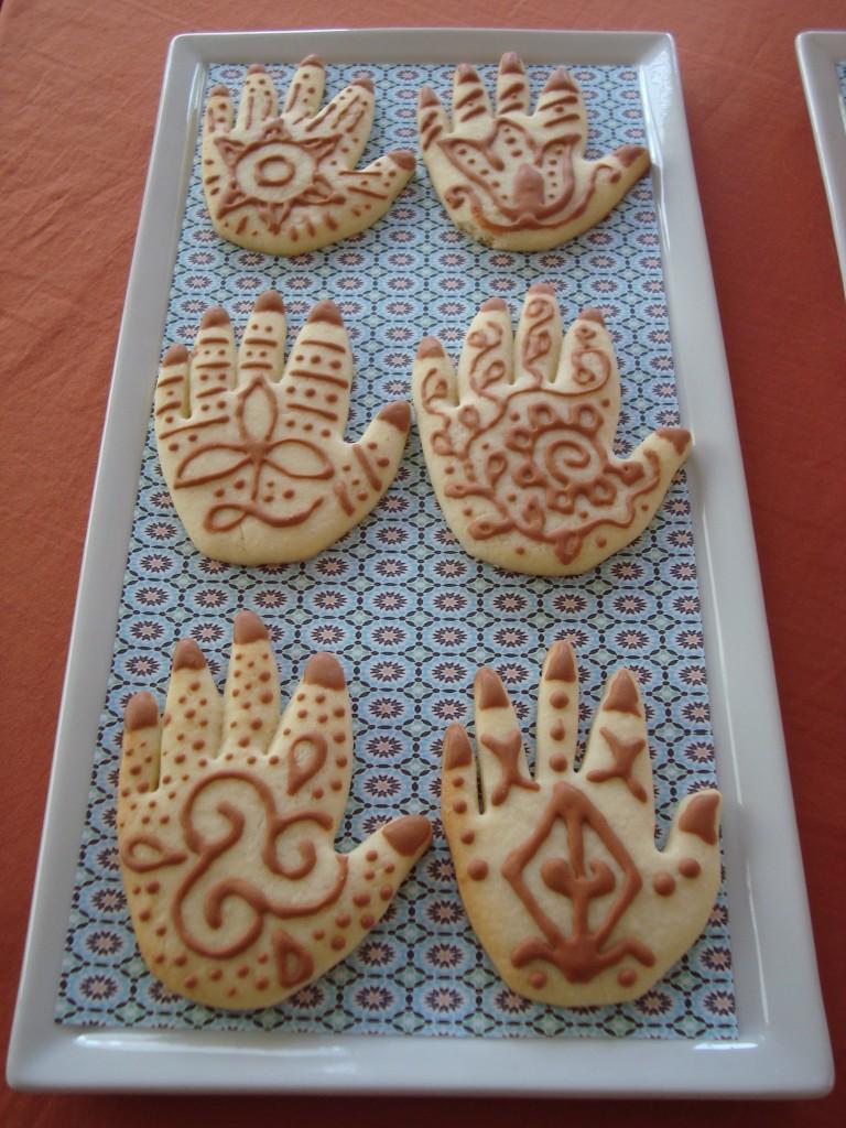 Henna cookies!
