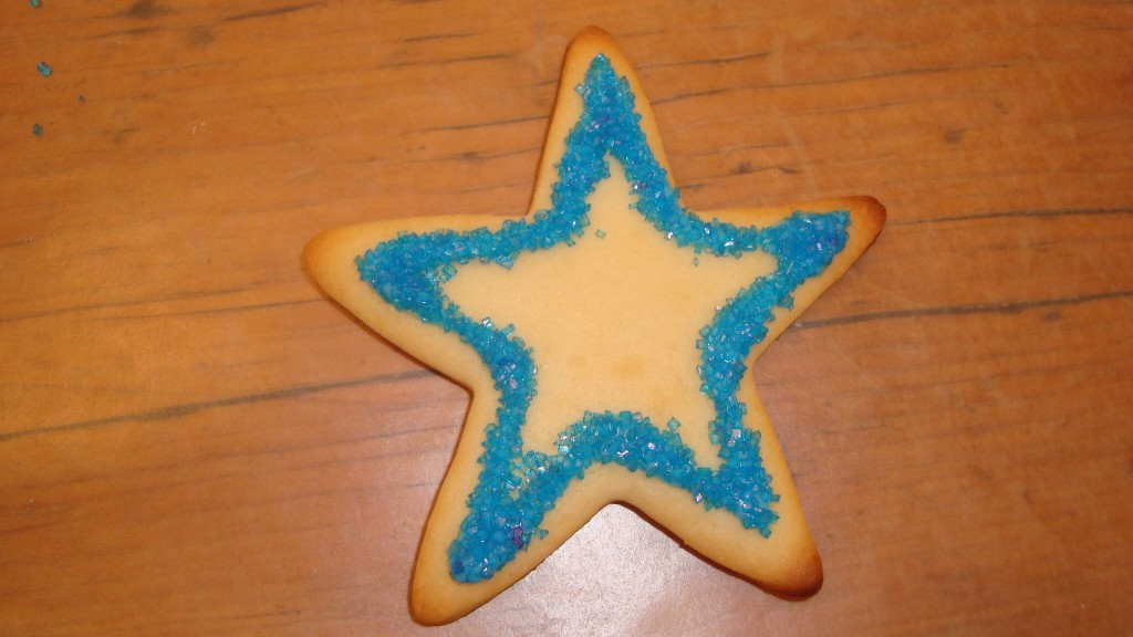 rock'in star cookies!