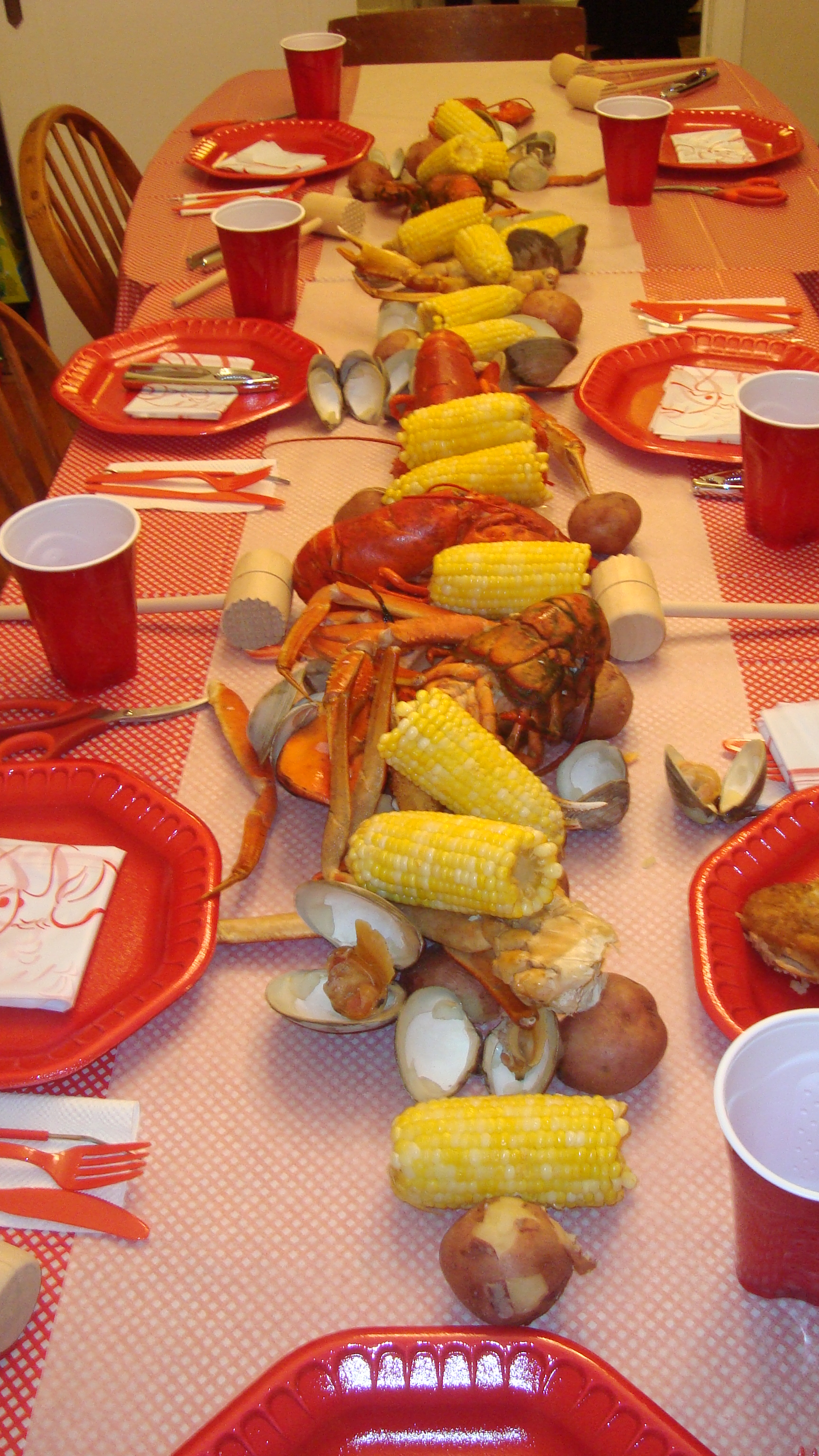 lobster boil birthday « We Love Crafty Tracey