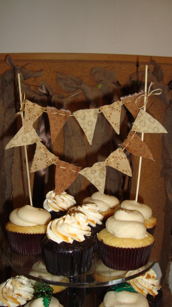 cake bunting!