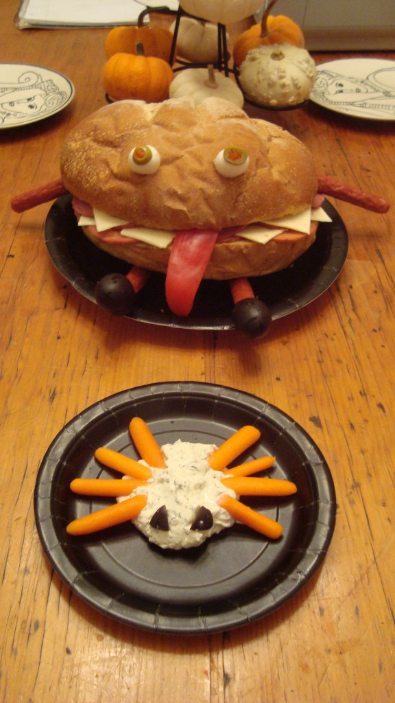 The Monster-Monster Sandwich and Pet Spider