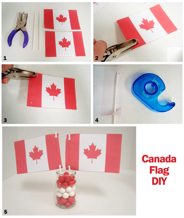 canada day crafts make your own flags We Love Crafty Tracey